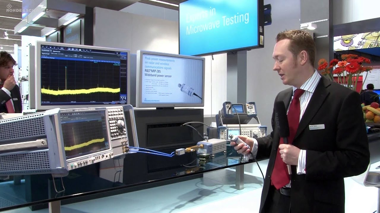 Rohde Amp Schwarz At Eumw 2012 Millimeter Wave Power