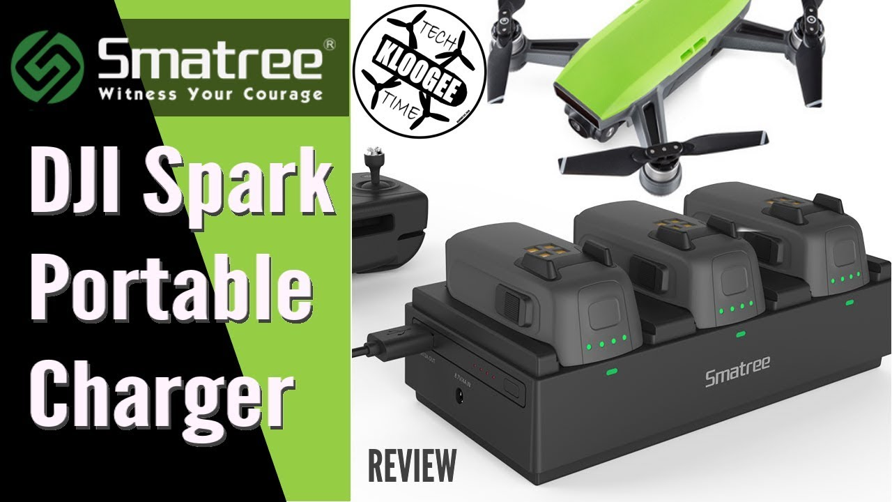 16d80d96322 DJI Spark - Smatree Portable Charger Review - YouTube