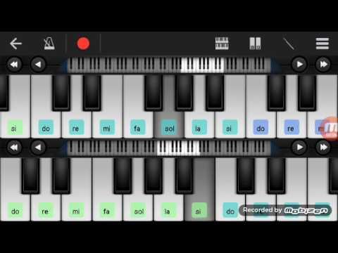 Not Piano - Haddad Alwi Ummi ( walk band tutorial ) tutorial piano
