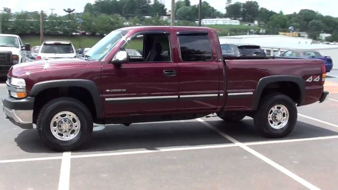 FOR SALE 2002 CHEVROLET SILVERADO 2500 HD !!! ONLY 74K MILES!! STK