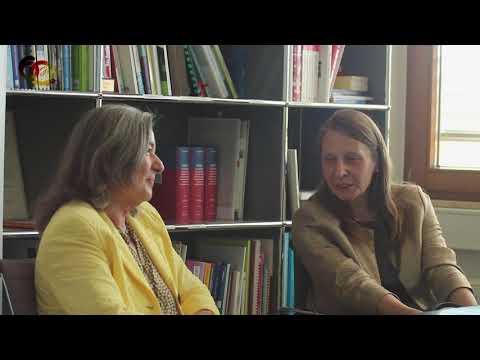 Professor Burkhardt Reich und Professor Theobald im Gespräch mit Nejdet Niflioğlu