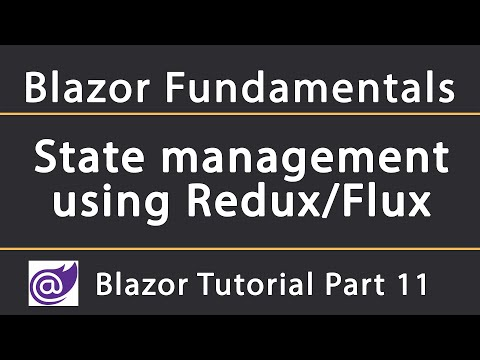 Managing Blazor state using Redux | Blazor Tutorial thumbnail