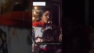#amirukot#femalelayics   na Chedo Hume Hum Sataye hue hain female lyrics