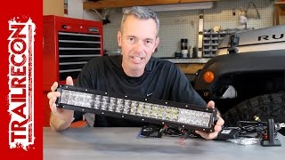 "Auxbeam RGB LED 22"" Light Bar Review"