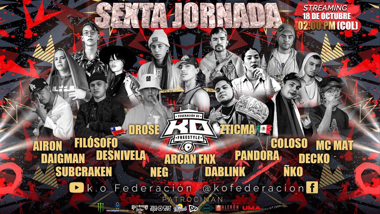 Download K.O FEDERACIÓN DE FREESTYLE / Jornada 6 internacional 🇲🇽🇨🇴🇨🇱