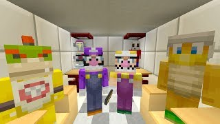 BOWSER JR GETS DETENTION! [BIG ESCAPE!] - Super Nintendo School - (Minecraft Switch) [28]