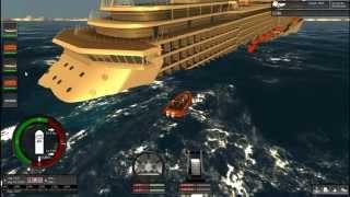 Cruise sinking - Ship Simulator Extremes