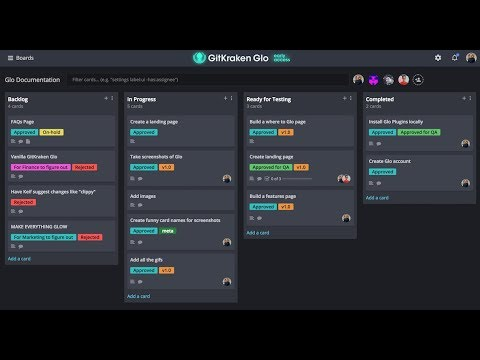 Issue Board - Task Tracking | GitKraken Glo Boards