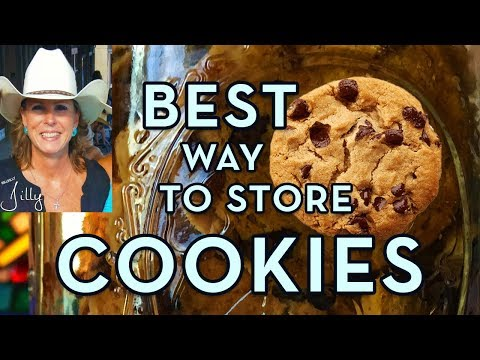 Store Cookies - How To Keep Your Cookies Fresh!