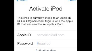 Activate Hacktivate Iphone Screen Apple ID Iphone 4 IOS 7.0.4 Bypass