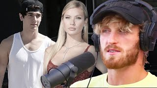 Logan Paul Shades Brỳce Hall & Josie Canseco Reacts To Dating Rumors