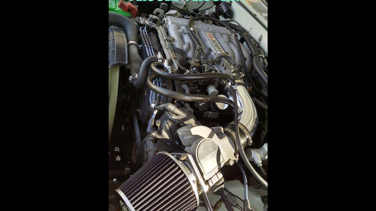 Blue AIR INTAKE KIT S for 88 89 90 91 92 93 94 95 TOYOTA PICKUP 4RUNNER 3.0L V6