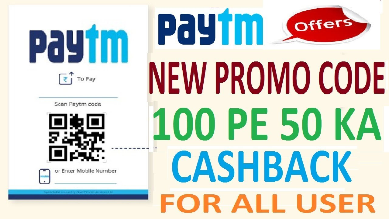 Image result for paytm 100 pe 50 cashback offer