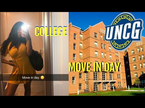 COLLEGE MOVE IN DAY VLOG 2018 | UNCG