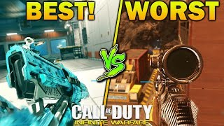 BEST GUN vs WORST GUN - New DLC Weapons Included (COD IW Update)