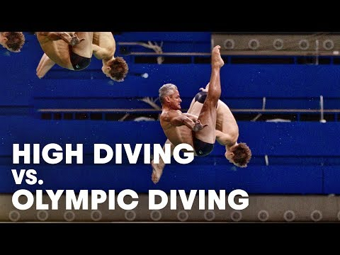 Olympic Diving vs. High Cliff Diving - An overview with Greg Louganis