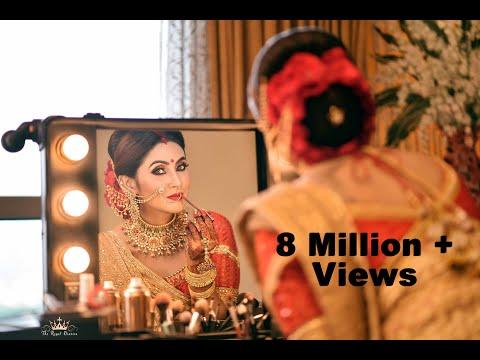 Bridal Reception Makeover || Jitu Barman ||