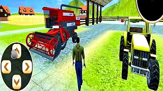 tractor game Real Farming Tractor Simulator 2019 - Tractor Driving #3 - Android GamePlay