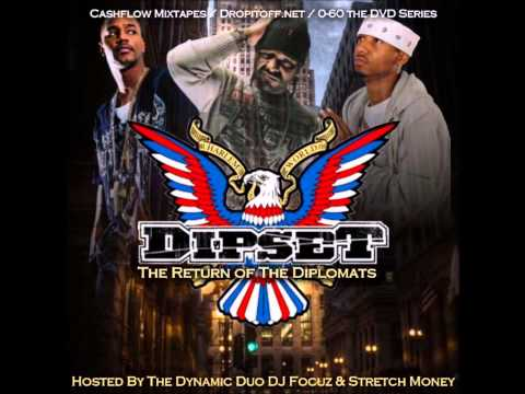 Dipset - The Return Of The Diplomats Hosted By DJ Focuz & Stretch Money (Full Mixtape Album)