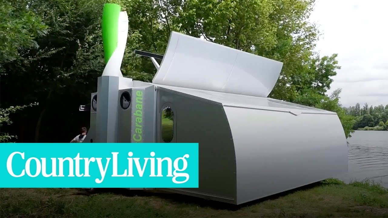 Check Out This Collapsible Camper Expands Into a High-Tech Tiny House! | Country Living