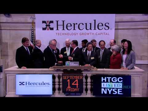 Hercules Technology Growth Capital Visits the NYSE