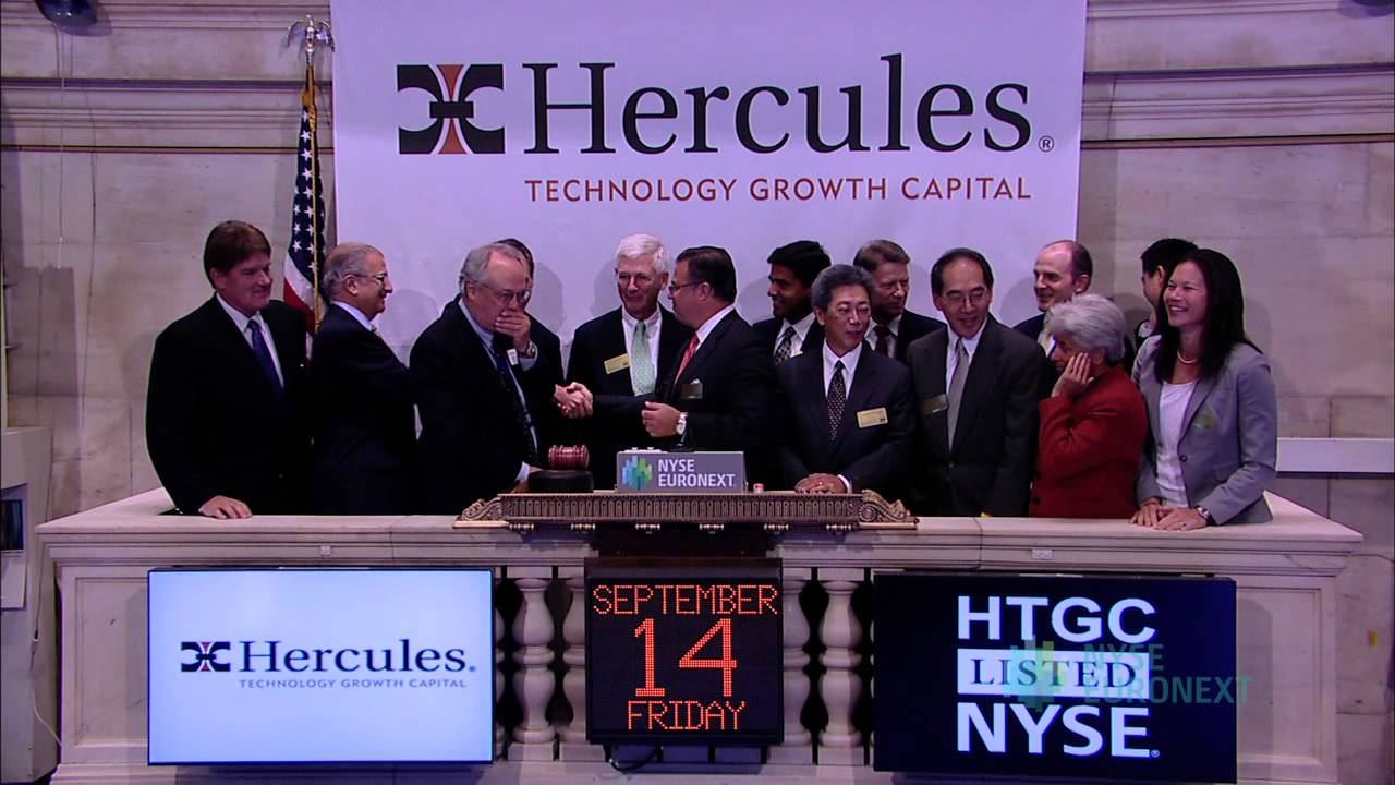 Hercules Technology Growth Capital Visits the NYSE - YouTube