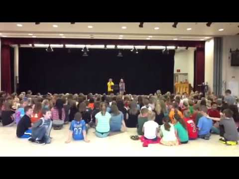 2013 RVES 5th grade talent show - Gabi