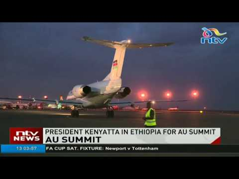 President heads to Ethiopia for AU heads of state summit