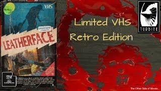 Leatherface (2017) I Limited VHS Retro Edition I Turbine Medien