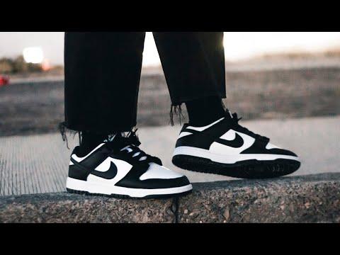 Nike DUNK LOW BLACK AND WHITE ¿Vale la pena? - Reseña en español