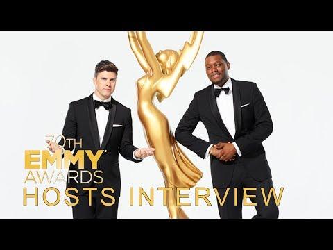 2018 Emmy Awards' Hosts Interview