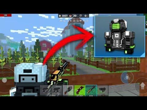 LA NUEVA SKIN NINJA DEL FUTURO EN PIXEL GUN 3D | Pixel Gun 3D | enriquemovie