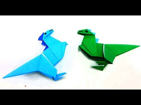 Origami Tutorial - Instructions for making paper Dragon Easy