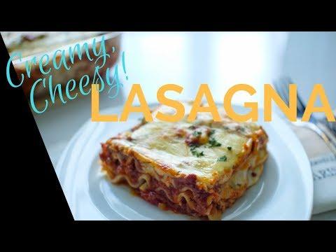 How To Make Lasagna   Easy Cheesy Creamy   Filipino-Style