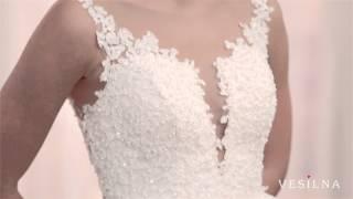 Свадебное платье 2016 года от VESILNA™ модель 3060