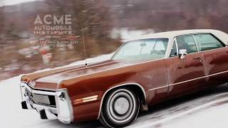 1973 Imperial LeBaron by Chrysler, First Snow Jan 2017