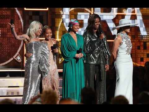 Michelle OBAMA at Grammys 2019? PR Stunt for the ANTICHRIST Mp3