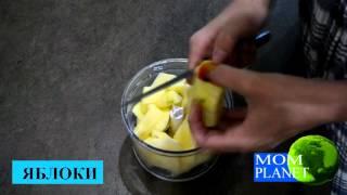 Диетический овсяно-яблочный пирог/правильное питание
