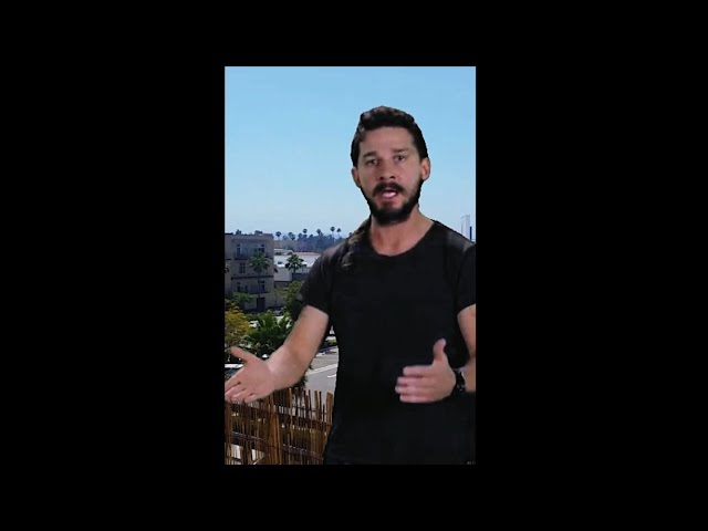 3e4d5e5dfca The Real Story Behind Shia LaBeouf s Hilarious  Motivational  Rant