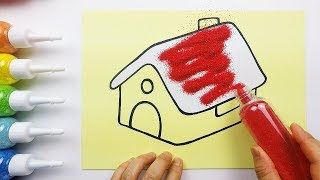 Comfortable House coloring & drawing for kids ㅣ 편안한 집 그리고 색칠하기