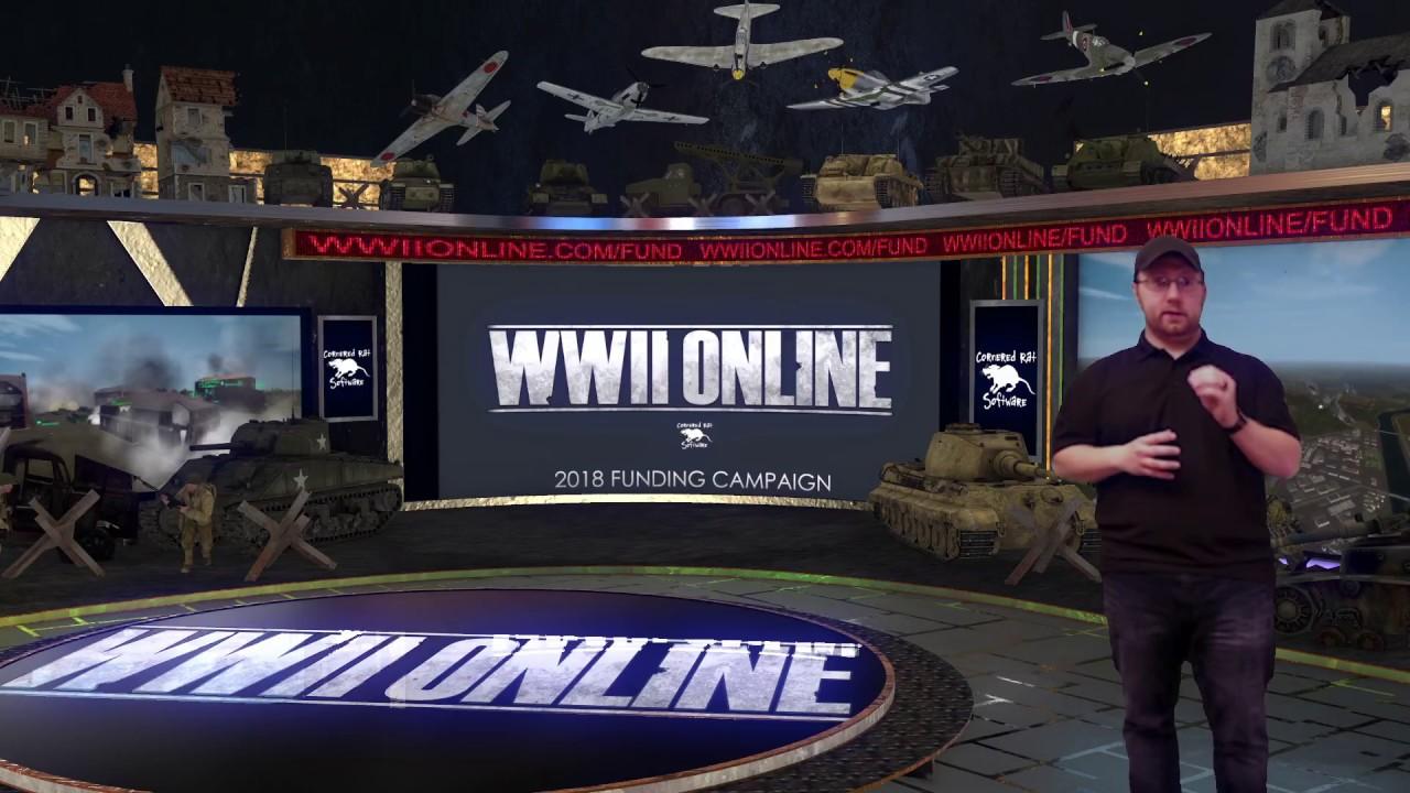 Fundraiser 2018 - WWII Online | Indiegogo