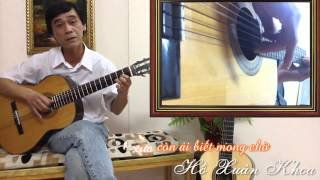 Đệm hát - Chốn Xưa - Guitarist Xuân Khoa - Guitar Đà Lạt