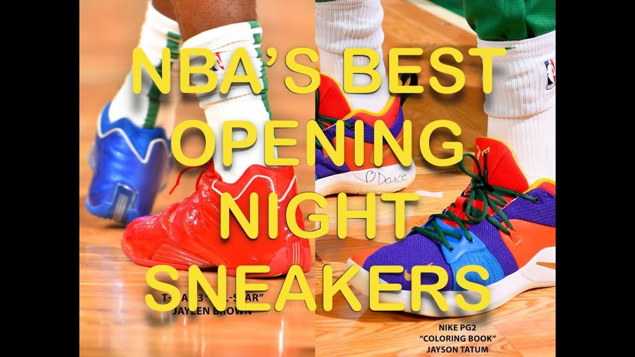 7a421f15d195 NBA s BEST Sneakers From 2018-19 Opening Night (My Thoughts) Jaylen Brown