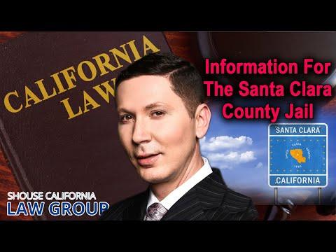 Info for the Santa Clara County Jail