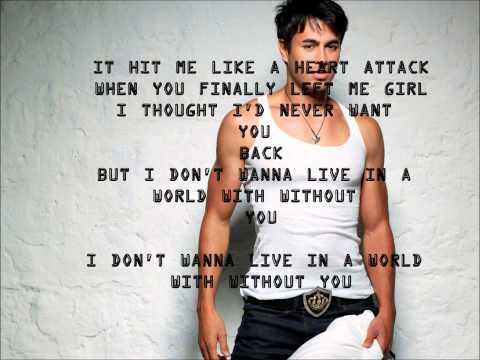 Heart Attack Enrique Iglesias Lyrics