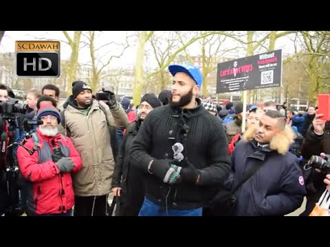 So wheres Tommy Robinson!? Mohammed Hijab | Speakers Corner | Hyde Park