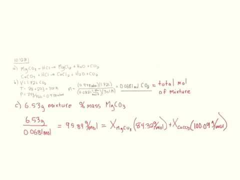 Chemistry Central Science 13 ed question 10.128