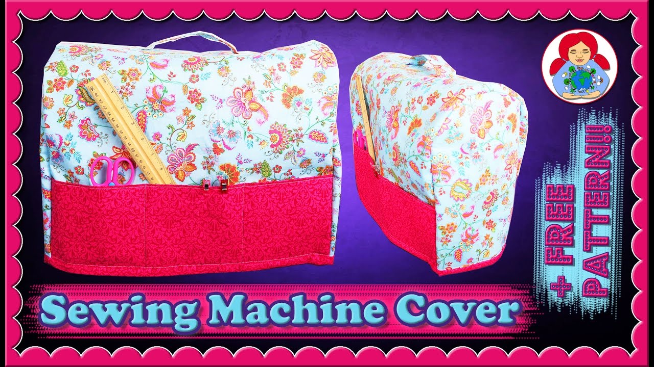 DIY | Sewing Machine Dust Cover + FREE pattern!!! • Sami Doll ...