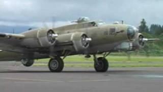 B-17, B-24, B-25 Startup and takeoff