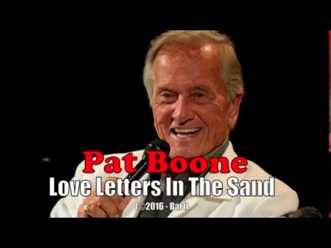 pat boone love letters in the sand pat boone letters in the sand karaoke 23911